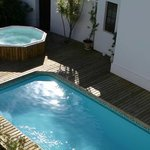 Pool Area and Jacuzzi