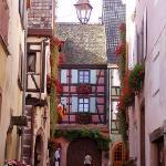 Riquewihr street scene