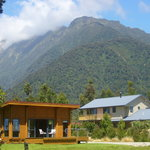 Our cottage and house, set in the Westland National Park