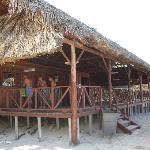 Beach Bar and tables