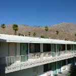 vue sur la montagne désertique de palm spring