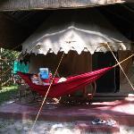 Tented cabana