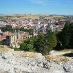 View over Burgos from the castle