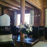 chalet's dining area