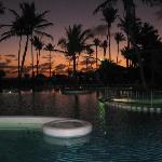 Pool at dawn. Pretty stunning.