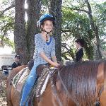 Ages 6 and older.  Good kids' horses.