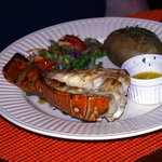 Great lobster tail!