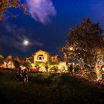 Night View of High Ridge Manor B&B!
