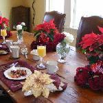 Breakfast Table In Dining Room