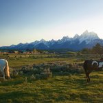 Triangle X is in a great location and has unmatched views of the Teton Mountain range