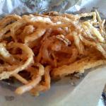 Fried onions appetizer