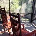 Our Private Screened Porch