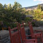 Back Terrace at Lodge