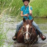 Horseback riding is one of the ranches many activities