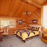 One of six lodge rooms