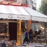 Outside Chez Ginette