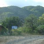 Camino al Hotel La Aguada