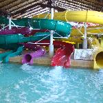 Our kids loved the waterslides!