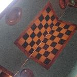 Fancy Chess Table - Library