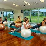 Enjoy an array of fitness classes