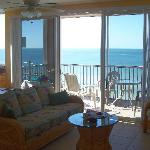 Gulf view from the family room