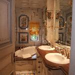salle de bain chambre comtesse