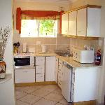 Kitchenette of the Yellowwood Suite