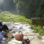 Picnic at your cottage or by Jubilee creek