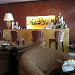 reception/bar area