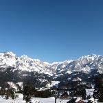 駒ヶ岳と鋸岳の景色