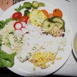 My salad plate