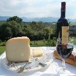 Fromage de brebis et vin de Madiran