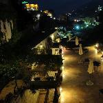 terrazzi con panorama notturno