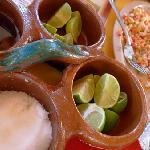Fresh lakefish ceviche