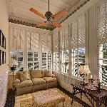 A Sun Porch, off a guest room