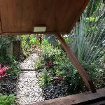 Gardens outside Cabana