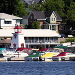 Located on Parry Sound's waterfront