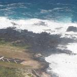 The airstrip on Molokai