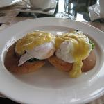 Eggs Benedict at Baros