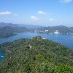 Sun Moon Lake from Cien Pagoda