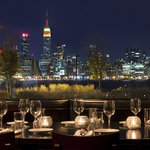 Enjoy stunning views of the Hudson River and Manhattan skyline while dining on authentic Italian
