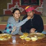 Us at chokhi dhani