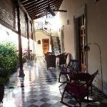 verandah sitting area
