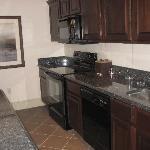 kitchen in suite