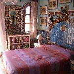 Моя кровать в номере на 2 этаже