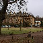 Front view of Balbirnie House