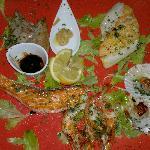 assortiment de poissons grillés