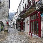 """We're located in Brantome's pedestrian area, between the wine shop """"Le Vin et Caetera"""" and the t"""