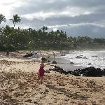 Keawapu Beach, looking south