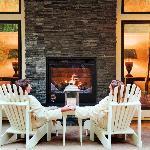 Luxury patio at the Farmhouse